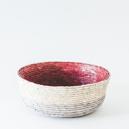 Mexican Handwoven Bowl