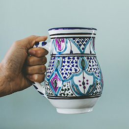 Fair Trade Tunisian Mug