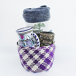 Mexican Palm Leaf Basket