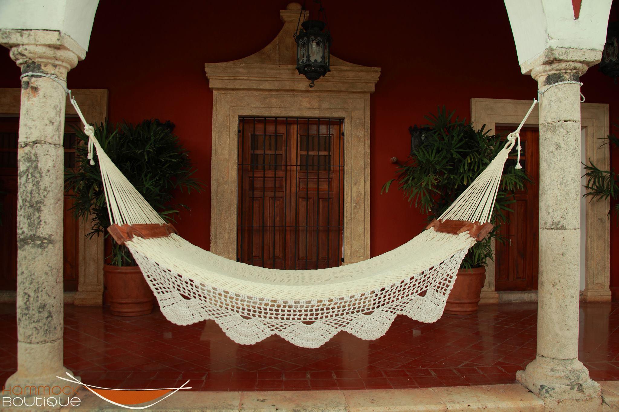 handmade Mayan hammock