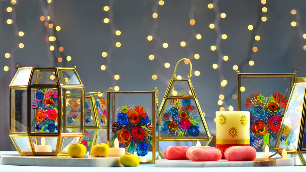 Diwali Candles - GlobeIn