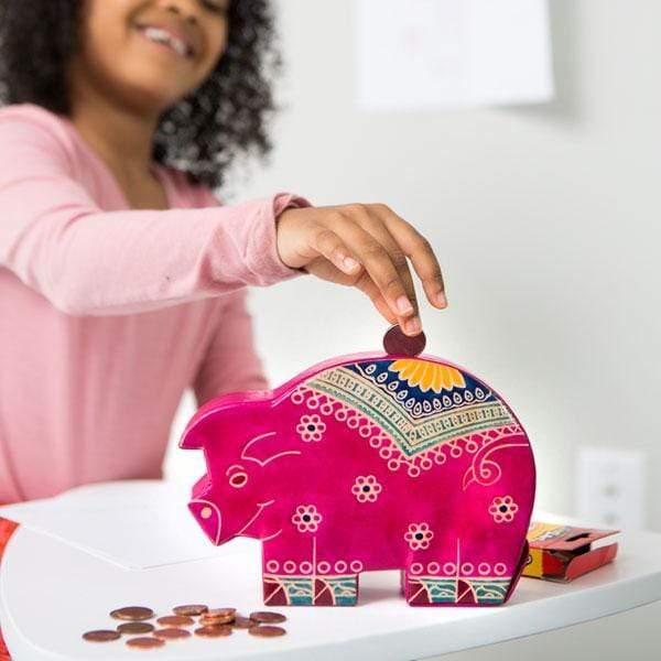 Fair Trade Piggy Bank
