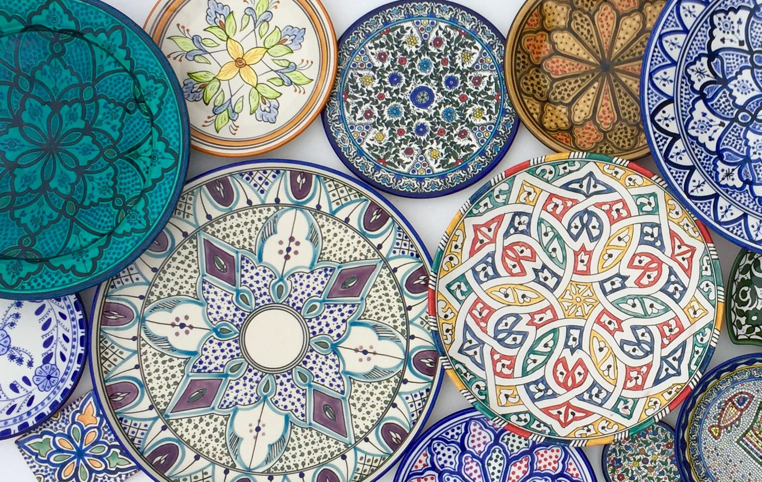 fair trade handmade ceramic platters