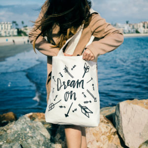 GlobeIn ImaniXchange Dream On Tote