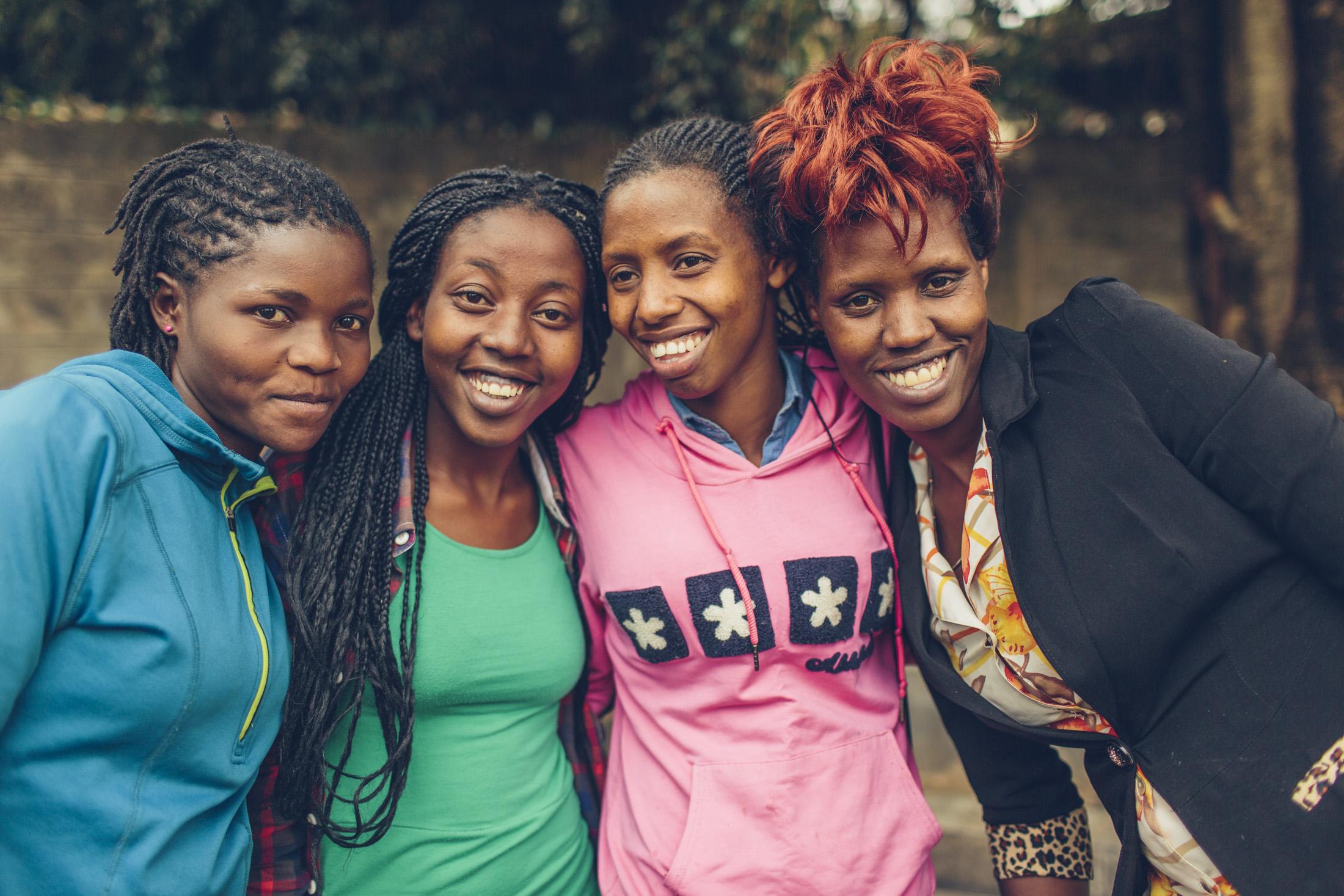 women artisans of Heshima Kenya