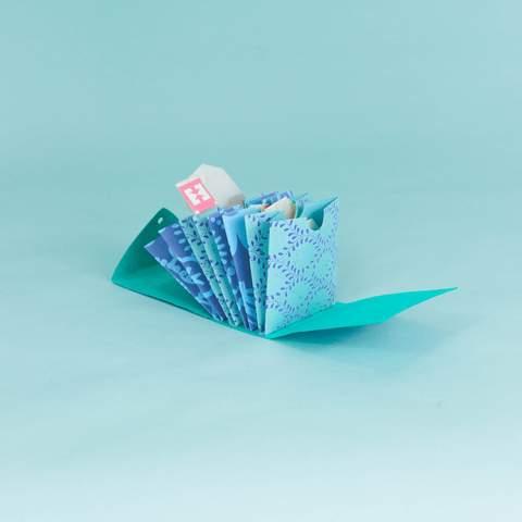Handmade Paper Tea Folder - Assorted, $6 $12
