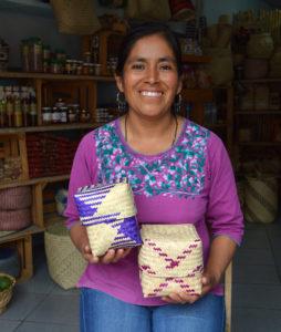 handmade baskets, oaxaca mexico