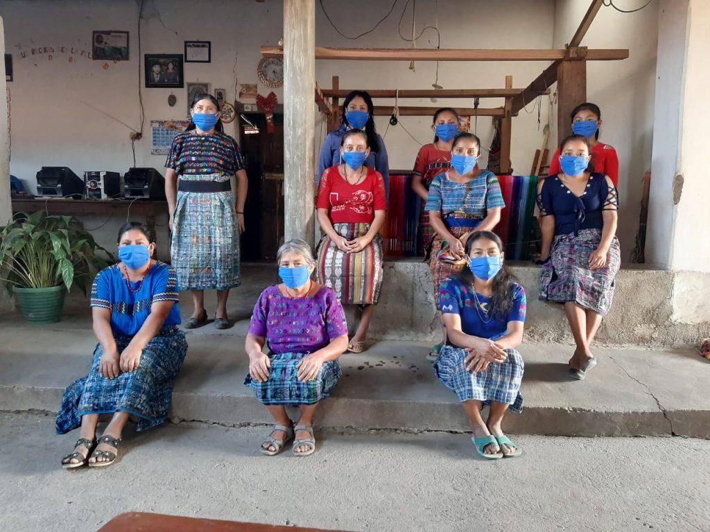 Masks Chuaperol, Mayan Hands GlobeIn