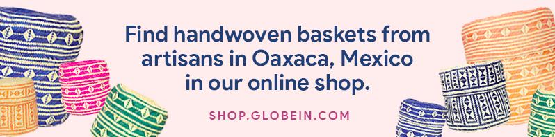 Mexico Handwoven Baskets