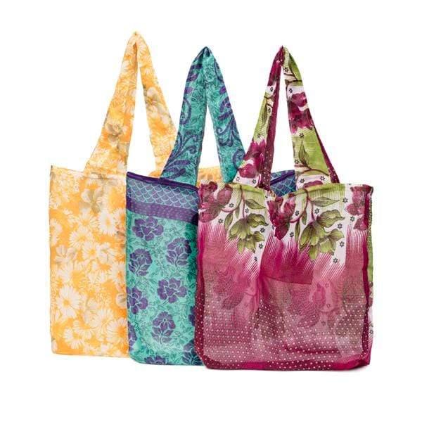 Recycled Sari Pocket Bag