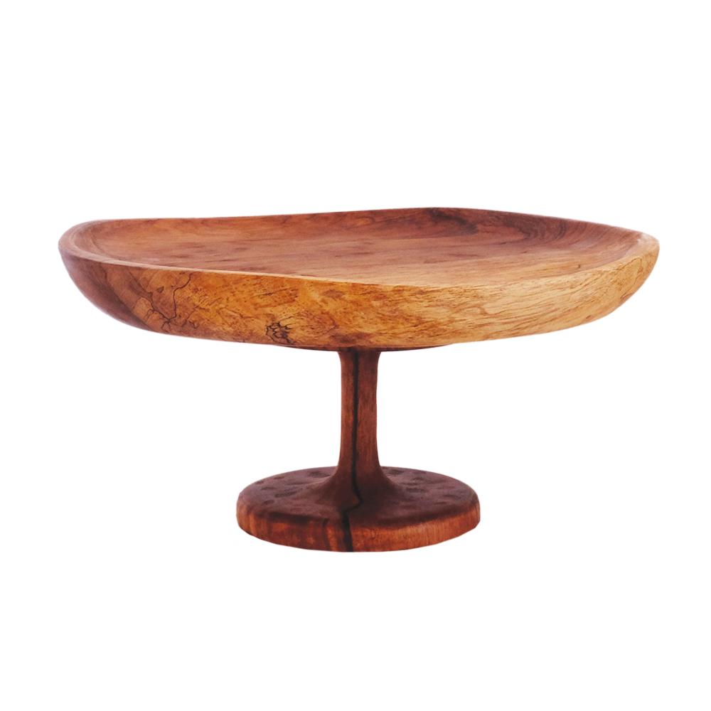 Wooden Cake Stand - GlobeIn