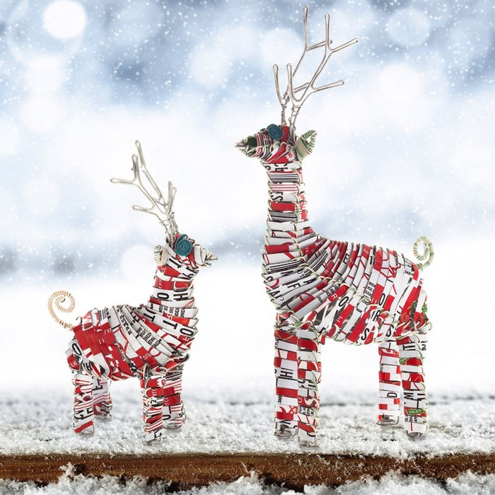 holiday-reindeers-recycled-cans