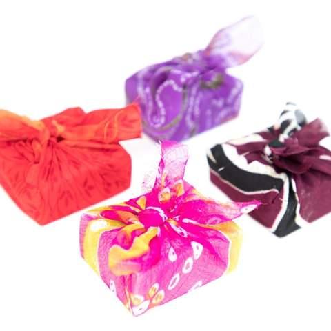 Sari Wrapped Soap - Single Assorted - GlobeIn